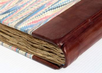 leather binding rebinding
