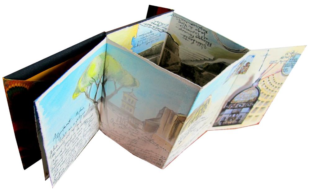 Roma Proceno original artist book arts Italy