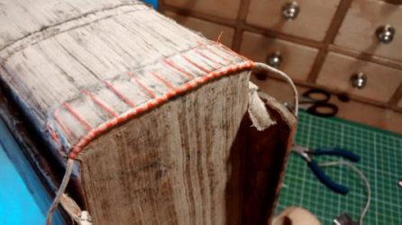 Family Bible Leather Binding Repair