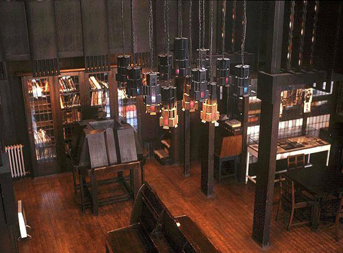Mackintosh library Glasgow school of art