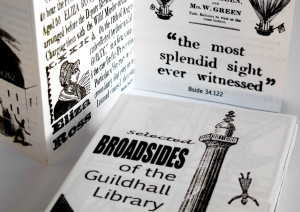 Broadsides Guildhall Library
