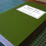 Hard cover case binding