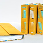 Leather Journals Giraffe Yellow