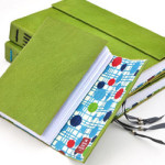 Leather Journal Moss Green