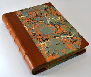 Leather binding