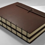 Coptic leather binding