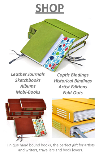 Artist Editions, Book Repairs, Creative Bindings, Book Arts Workshops