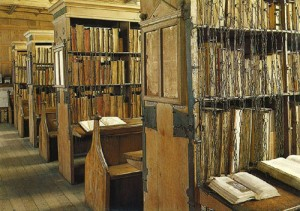 Beautiful Libraries Hereford Cathedral Chained Library