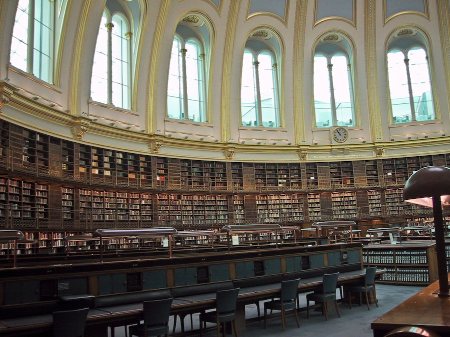Old Reading Room at the British Museum